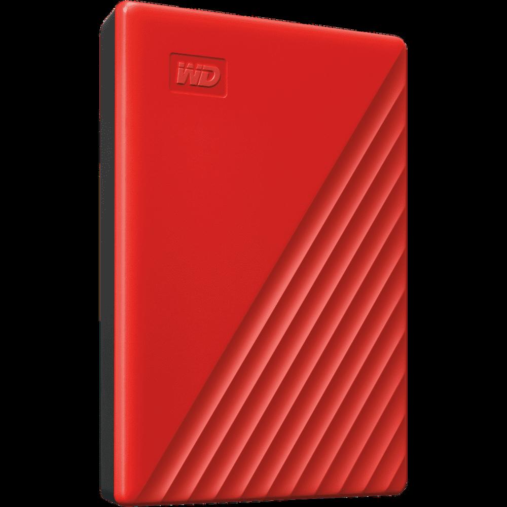Внешний жесткий диск 2.5 2Tb WD My Passport WDBYVG0020BRD-WESN USB3.0 Красный