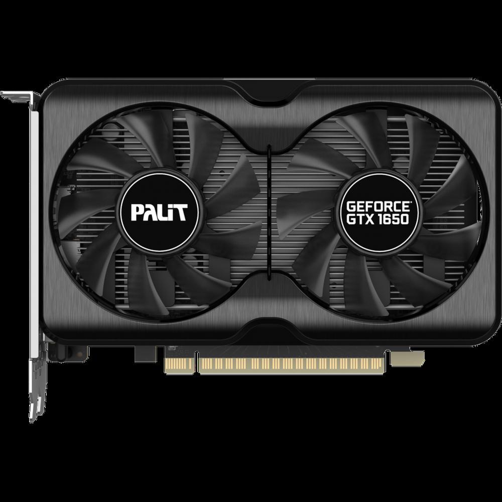 Фото - Видеокарта Palit GeForce GTX 1650 4096Mb, GP OC 4G (NE61650S1BG1-1175A) DP, HDMI, Ret видеокарта palit nvidia geforce gtx 1660super pa gtx1660super gp oc 6g 6гб gddr6 oc ret [ne6166ss18j9 1160a]