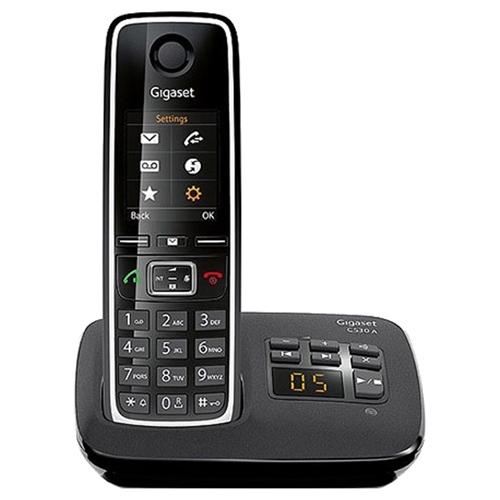 Радиотелефон Gigaset C530A черный