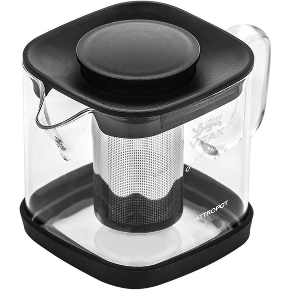 Фото - Заварочный чайник Vitax VX 3306, 600 мл. заварочный чайник vitax belsay 1 л vx 3203