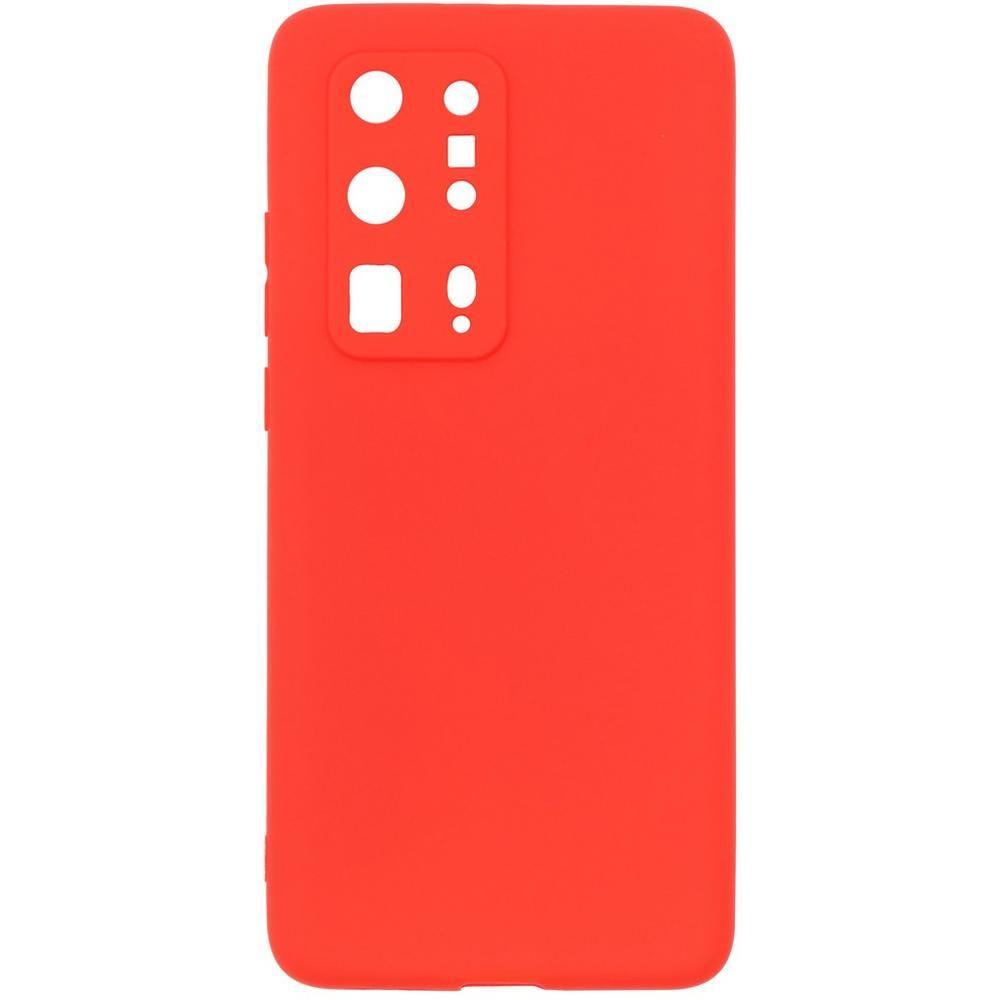 Чехол для Huawei P40 Pro Plus Zibelino Soft Matte красный