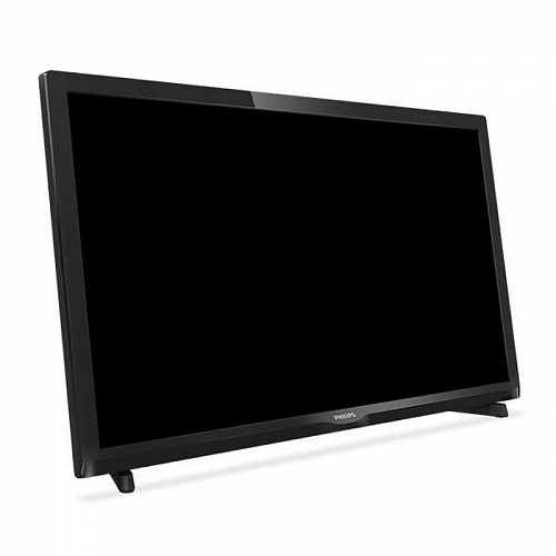 "Телевизор 24"" Philips 24PHT4000 (HD 1366x768, VGA, USB, HDMI) черный"