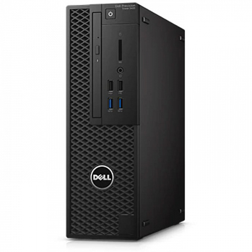 Dell Precision 3420 Xeon E3-1245v6/16Gb/1Tb+256Gb SSD/DVD/Win10 Pro (3420-4520)