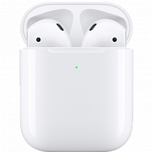 Bluetooth гарнитура Apple AirPods 2 with Wireless Charging Case MRXJ2RU/A