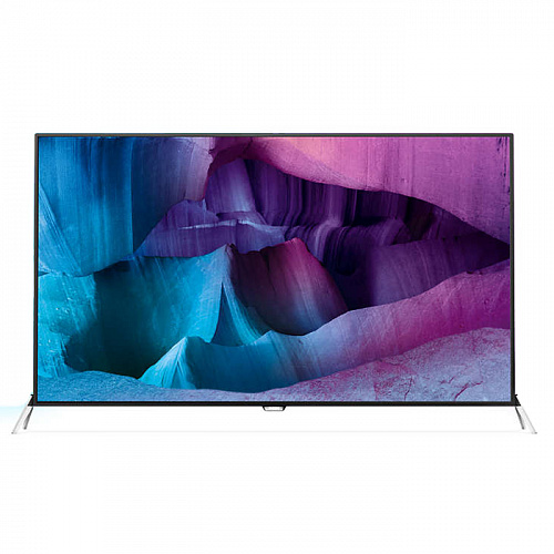 "Телевизор 48"" Philips 48PUS7600 (4K UHD 3840x2160, 3D, Smart TV, USB, HDMI, Wi-Fi) черный/серебристый"