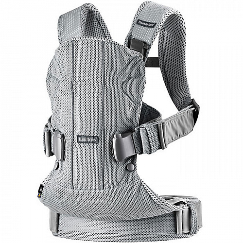 Рюкзак-кенгуру BabyBjorn One Air Mesh New Серебрянный