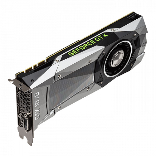 Видеокарта MSI GeForce GTX 1070 8192Mb, Founders Edition DVI-D, HDMI, 3xDP Ret