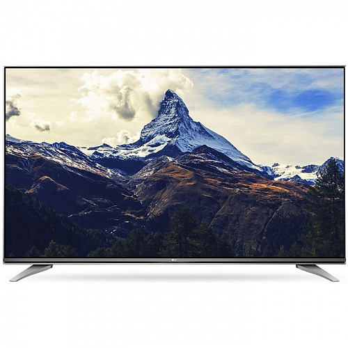 "Телевизор 49"" LG 49UH750V (4K UHD 3840x2160, Smart TV, USB, HDMI, Bluetooth, Wi-Fi) серый"