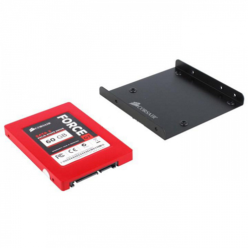 "Внутренний SSD-накопитель 60Gb Corsair CSSD-F60GBGT-BK SATA3 2.5"" Force Series GT"