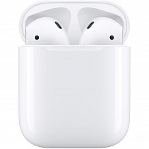 Bluetooth гарнитура Apple AirPods 2 with Charging Case MV7N2RU/A