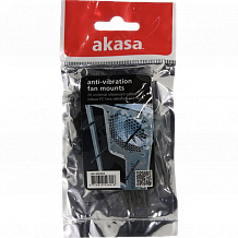 Akasa Silicone Fan Pins 20pc AK-MX003 Black