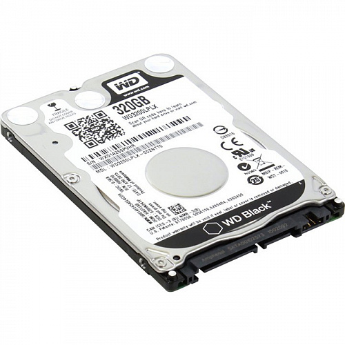 "320Gb 2.5"" Western Digital (WD3200LPLX) 32Mb 7200rpm SATA3 Black"
