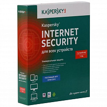 Антивирус Касперского Internet Security Multi-Device Russian Edition (для 3 ПК на 1 год)