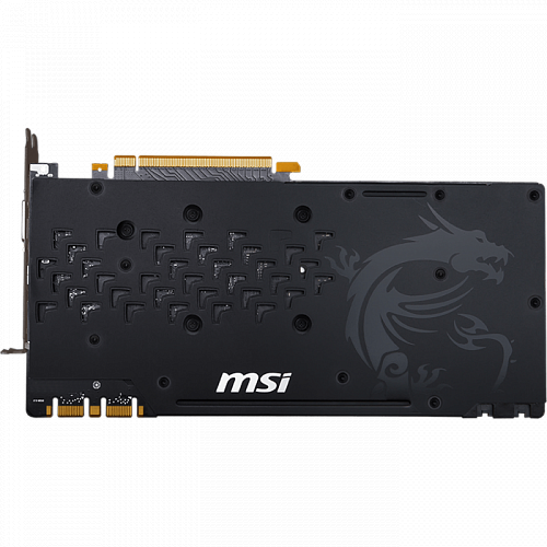 Видеокарта MSI GeForce GTX 1080 8192Mb, Gaming X 8G DVI-D, HDMI, 3xDP Ret