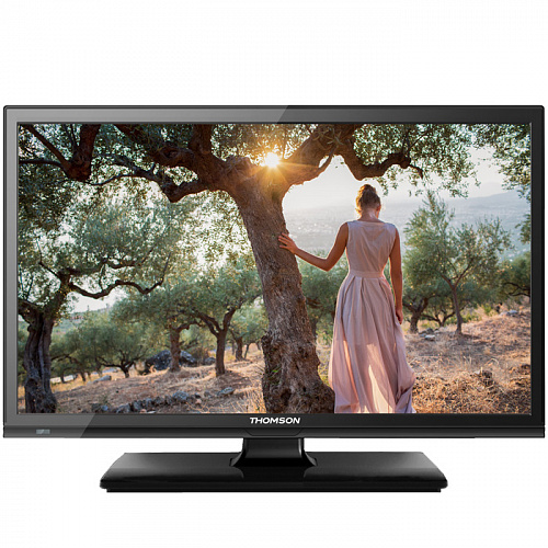 "Телевизор 24"" Thomson T24E20DH-01B (HD 1366x768, USB, HDMI) черный"