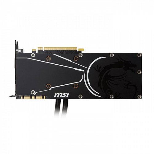 Видеокарта MSI GeForce GTX 1070 8192Mb, Sea Hawk X, DVI-D, HDMI, 3xDP Ret