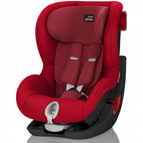 Автокресло Britax Romer King II Black Series Flame Red Trendline