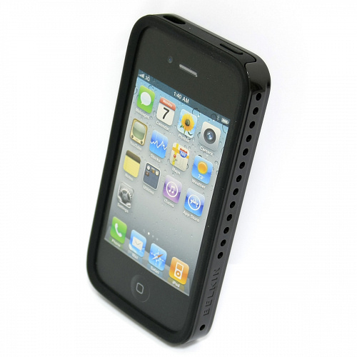 Чехол Belkin для iPHONE 4 SHIELD SHOCK, Black PEARL F8Z640cw154