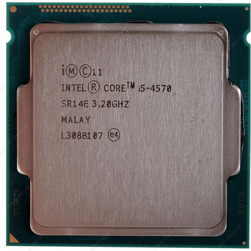 Процессор Intel Core i5-4570 (3.2GHz) 6MB LGA1150 Oem