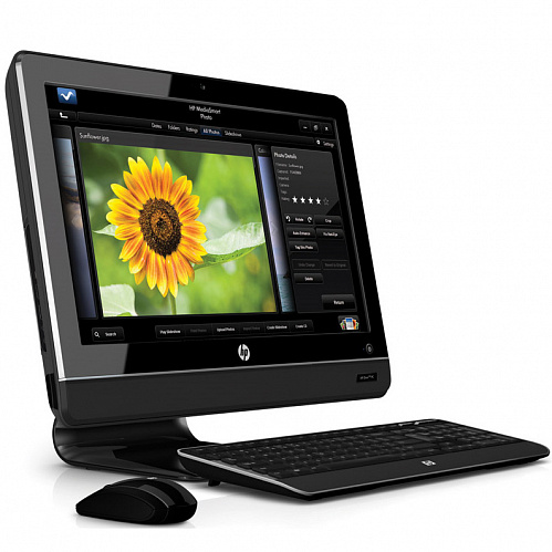 "Моноблок HP Omni 100-5130ru LN501EA AMD Athlon II 170u/2GB/500Gb/HD4270/DVD/WiFi/cam/kbd/mouse/20""/DOS"
